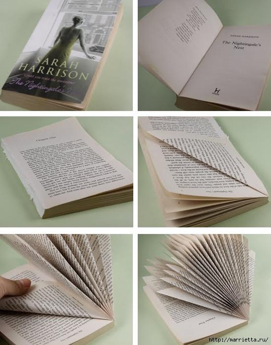 Новогодние елки из старых книг (9) (549x700, 243Kb)