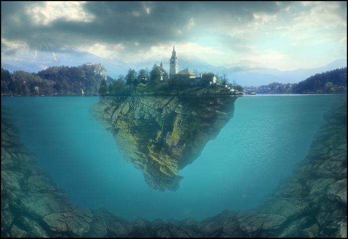 Остров Блед в Словении12 (700x481, 370Kb)
