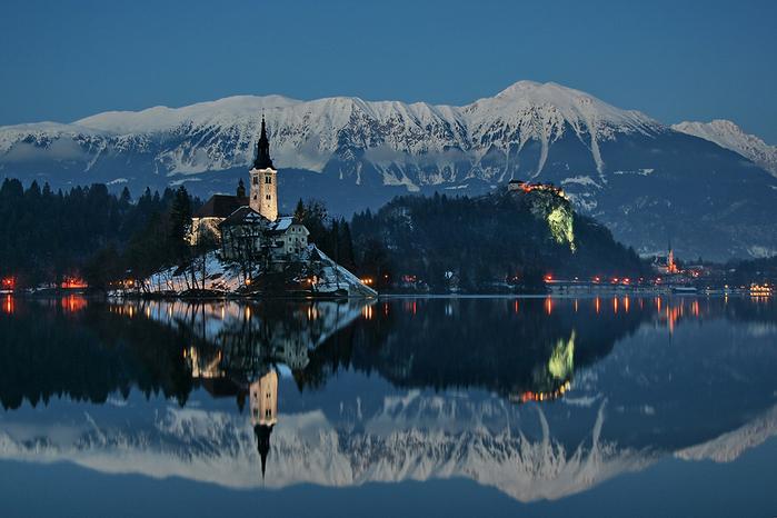 Остров Блед в Словении14а (700x466, 419Kb)