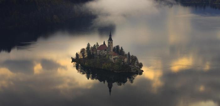 Остров Блед в Словении15а (700x340, 130Kb)
