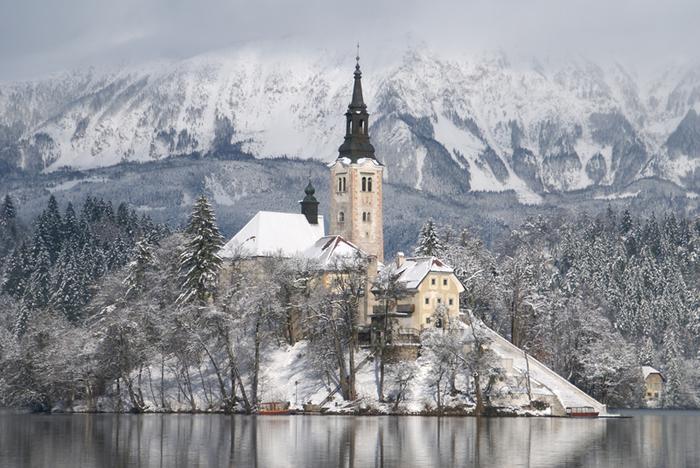 Остров Блед в Словении20в (700x468, 415Kb)
