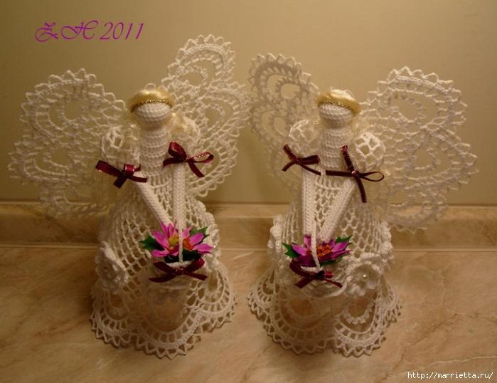 ангелы, колокольчики и снежинки крючком (5) (700x538, 246Kb)