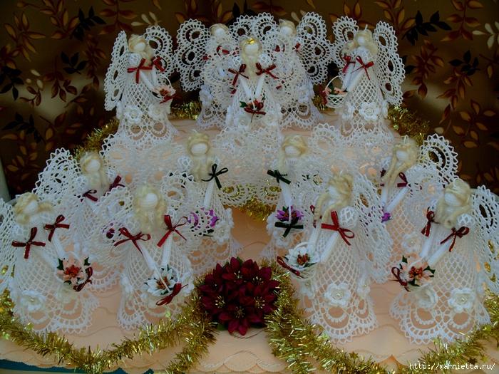 ангелы, колокольчики и снежинки крючком (12) (700x525, 403Kb)