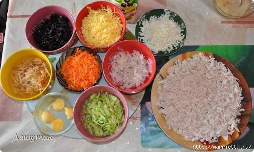 Рецепт куриного салата ИЗОБИЛИЕ (6) (520x312, 133Kb)