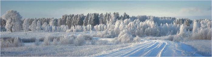 зимний пейзаж (698x189, 160Kb)
