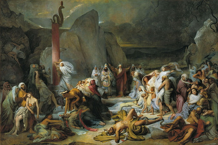 Фёдор Бруни — Медный змий
