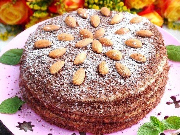 Сметанный торт на сковороде (604x453, 104Kb)