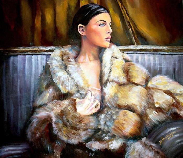 Магия женщины... Польский художник Damian Klaczkiewicz