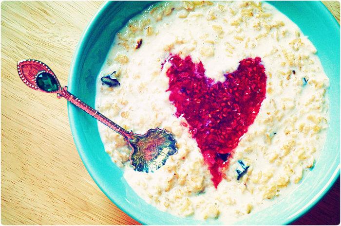 сердечный завтрак (700x465, 121Kb)