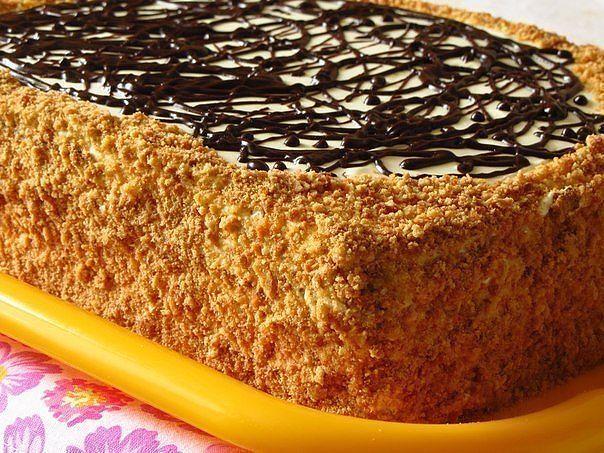 Как украсить торт в домашних условиях сметанным