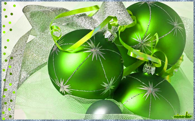 Праздничная-с-зелеными-шари (400x250, 212Kb)