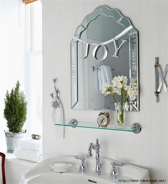 2013 christmas bathroom decor chic bathroom decorating idea 2013 christmas joy sign-f64949 (550x600, 142Kb)
