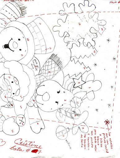 Шаблоны для пошива рождественских сапожков (10) (388x512, 170Kb)