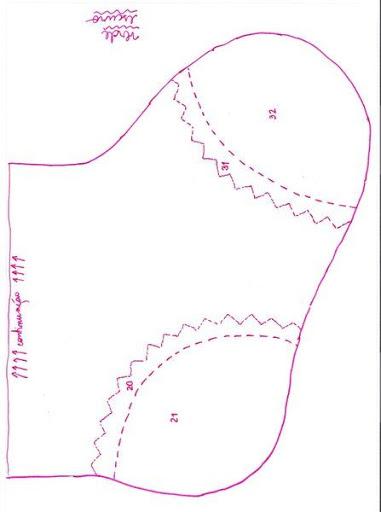 Шаблоны для пошива рождественских сапожков (2) (381x512, 74Kb)