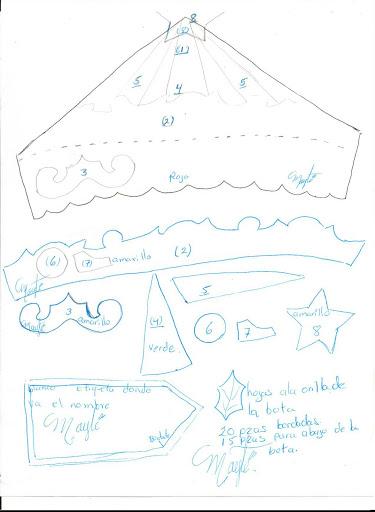 Шаблоны для пошива рождественских сапожков (7) (375x512, 117Kb)