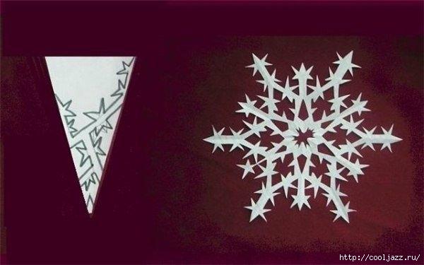 схемы снежинок к новому году2 (600x375, 93Kb)