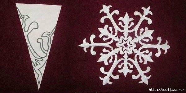 схемы снежинок к новому году4 (600x302, 118Kb)