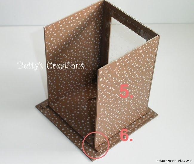 Faroles de Navidad con sus manos de cartón (9) (650x551, 149Kb)