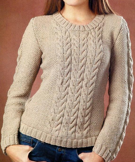bejev-pulover-spicami-foto (572x684, 433Kb)