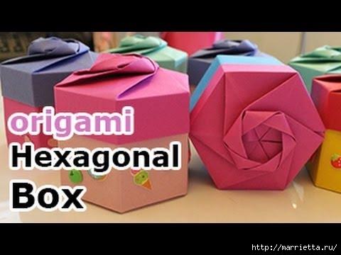 Коробочки для подарков в технике оригами (480x360, 81Kb)