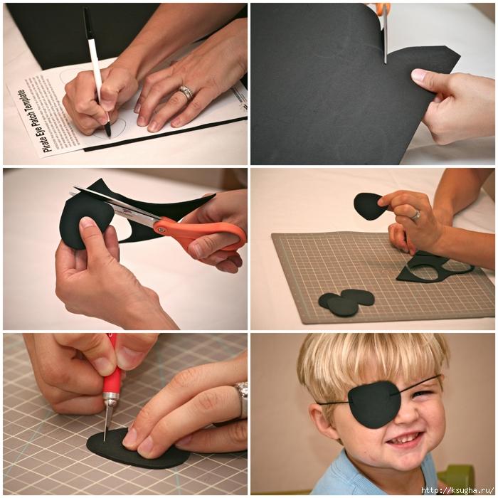 Как сделать пирата своими руками