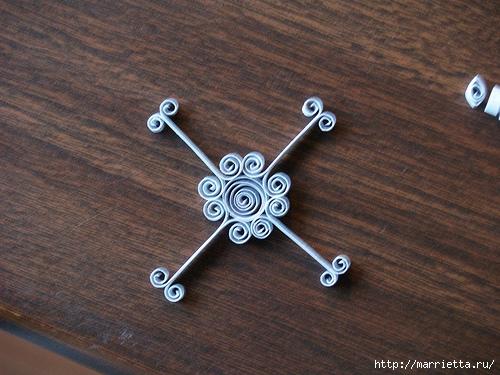 Новогодние звезды в технике квиллинг для украшения елочки (6) (500x375, 194Kb)