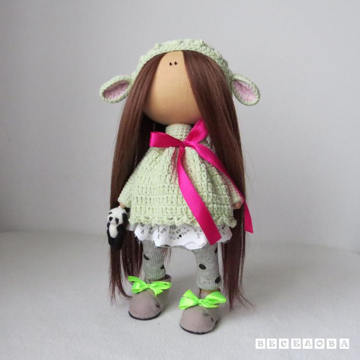 Интерьерные куклы сшить своими руками 82