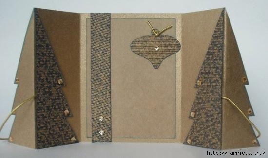 ЕЛОЧКА - новогодняя открытка своими руками (5) (550x325, 95Kb)
