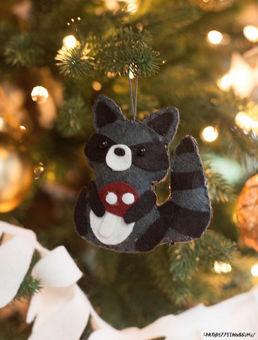 Felt_Raccoon_Ornament (532x700, 267Kb)