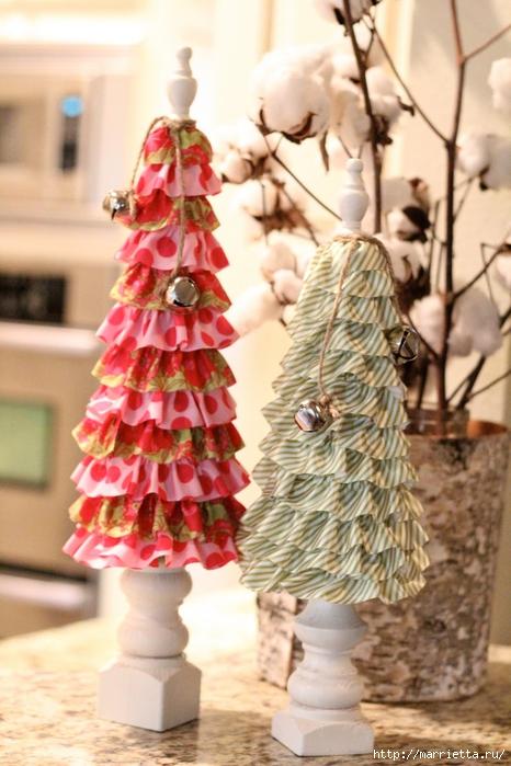 Текстильные новогодние елочки. Мастер-класс (6) (466x700, 266Kb)