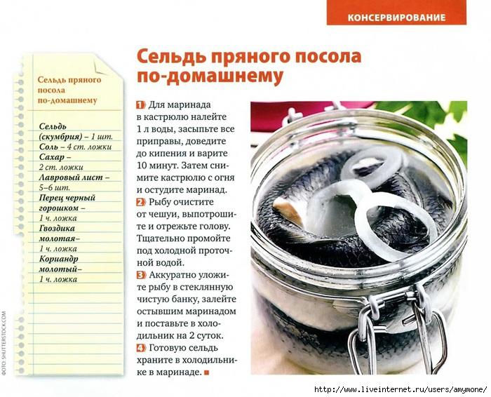Селедка в домашних условиях рецепт все 966