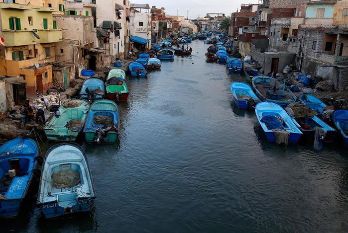 Город Эль-Макс, уютная египетская «Венеция»