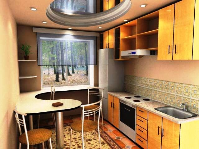 Ремонт маленькой кухни фото дизайн
