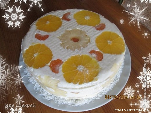Новогодний сметанный торт-суфле соблазн (8) (520x390, 131Kb)
