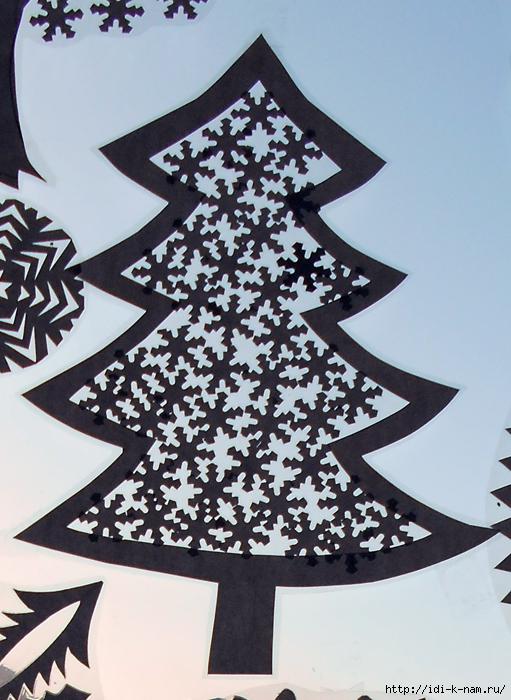 Фигурное вырезание новогодних украшений
