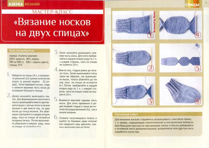 Вязание на спицах 2