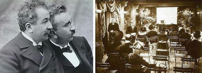 Картинки по запросу 1895 - День рождения кинематографа – состоялся первый публичный киносеанс.