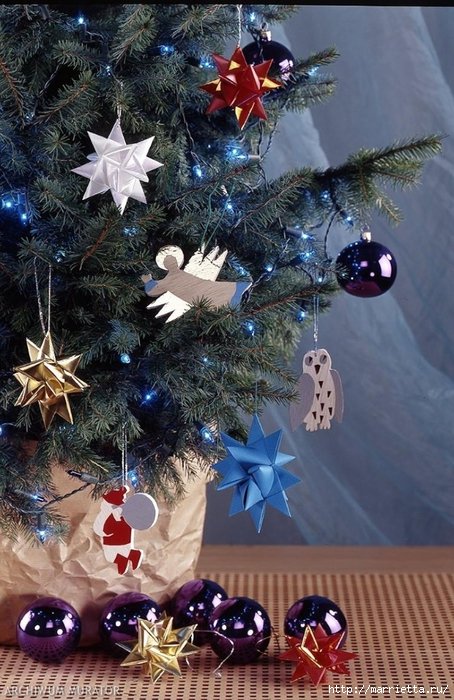Новогодние елки (46) (454x700, 308Kb)