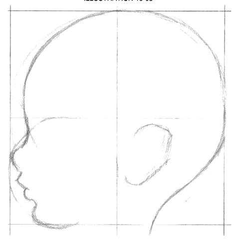 как нарисовать лицо ребенка3 (473x484, 37Kb)