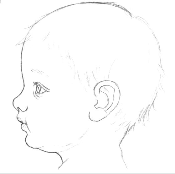 как нарисовать лицо ребенка5 (559x554, 43Kb)