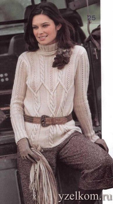 свитер с косами1 (388x700, 60Kb)
