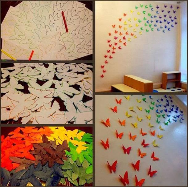 Украсить детскую комнату своими руками фото