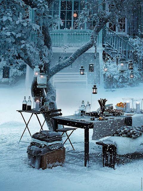 Snow Picnic, Stockholm, Sweden (480x640, 92Kb)
