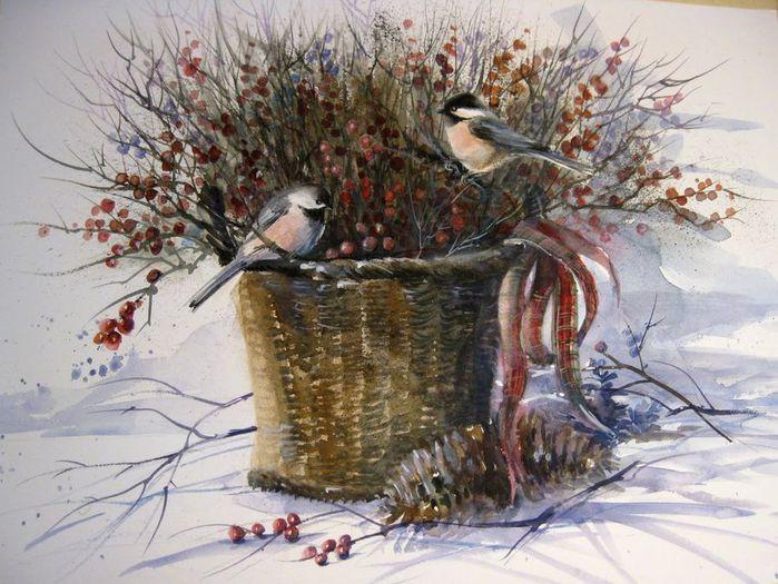 Winter Birds (700x525, 84Kb)