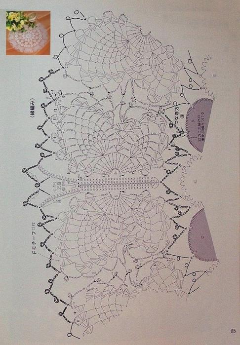 бабочки по кругу (486x700, 283Kb)