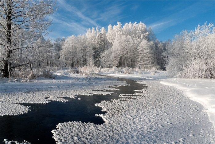 яркие краски мира зима уходит (700x467, 325Kb)