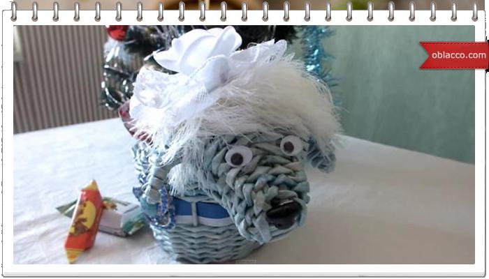 Плетение из газет. Синяя деревянная овечка. Мастер класс/3518263__3_ (700x400, 316Kb)