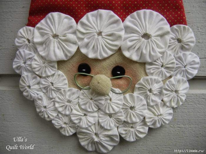 04 Santa Claus quilt, Ulla's quilt world- (700x525, 292Kb)