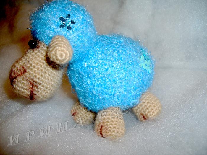 Схемы вязаных овечек