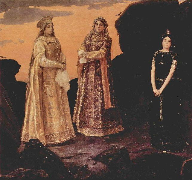 снегурочка три царевны подземного царства
